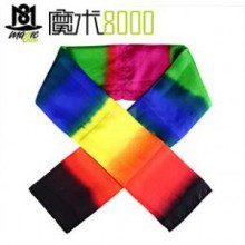 Scarf Changing Color -- High Quality