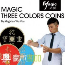 Three Colors Coins By Wu You