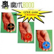 Chinese Coins Magic,One Coin Three Routines
