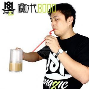 Drinking Milk from Distance Place