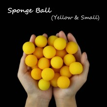 Sponge Ball -- Yellow(2.5cm)