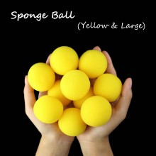 Sponge Ball -- Yellow(4.5cm)