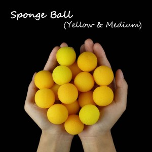 Sponge Ball -- Yellow(3.5cm)