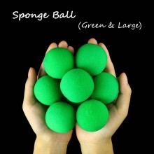 Sponge Ball -- Green(4.5cm)