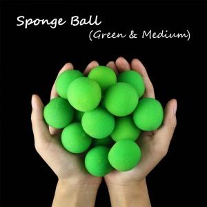 Sponge Ball -- Green(3.5cm)