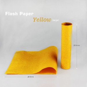 Color Flash Paper--Yellow