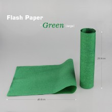 Color Flash Paper--Green
