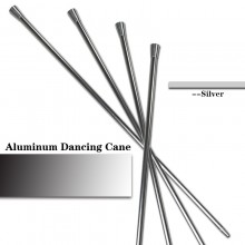 Aluminum Dancing Cane—Silver