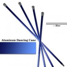 Aluminum Dancing Cane—Blue