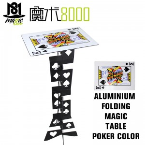 Aluminium Folding Magic Table  Poker Color