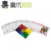 Diamond Playing Card Four Corlor Fanning Thin Deck