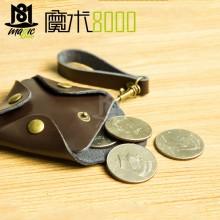 Cowhide Coin Bag