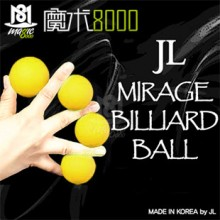 JL Mirage Billiard Ball (yellow)