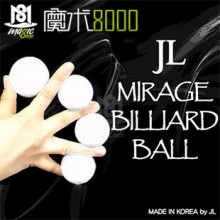 JL Mirage Billiard Ball (white)